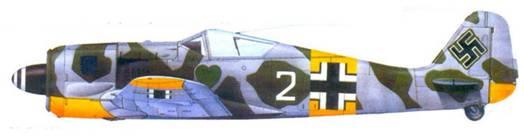 35.Fw 190A-4, обер-фельдфебель Антон Дебеле, весна 1943 года