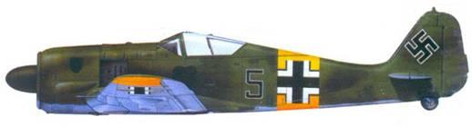 37.Fw 190A-4, капитан Ганс Гётц. июль 1943 года