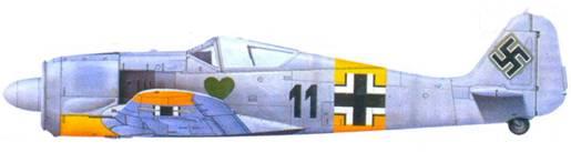 38.Fw 190А-4, фельдфебель Ганс-Йоахим Крошински. февраль 1943 года