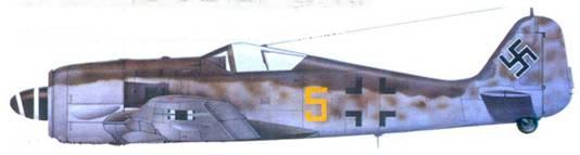 39.Fw 190A-6, обер-лейтенант Отто Киттель, август 1944 года