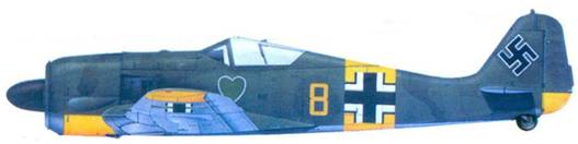 41.Fw 190A-5, лейтенант Роберт Вайс, июнь 1943 года