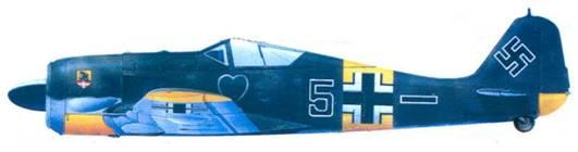 42.Fw 190А-6, обер-лейтснант Макс Штотц, май 1943 года