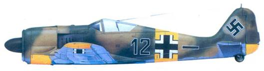 44.Fw 190A-4, фенрих Норберт Хайнинг, май 1943 года