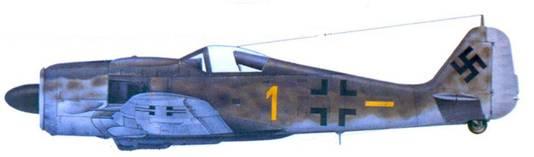 46.Fw 190A-9, капитан Гельмут Веттштайн, февраль 1945 года