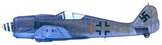 47.Fw 190А-8, лейтенант Герд Гюбен, январь 1945 года