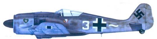 48.Fw 190А-8, обер-лейтенант Карл Брилль, лето 1944 года