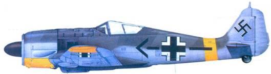 49.Fw 190F-2, майор Альфред Друшель, лето 1943 года