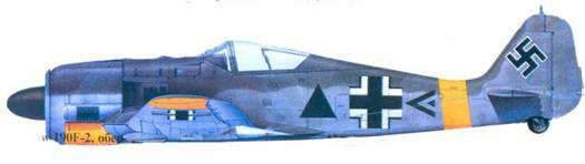 50.Fw 190F-2, капитан Герог Дёрффель, февраль 1943 года