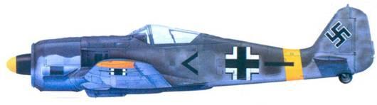 51.Fw 190F-2, обер-лейтенант Карл Кеннель, июль 1843 года