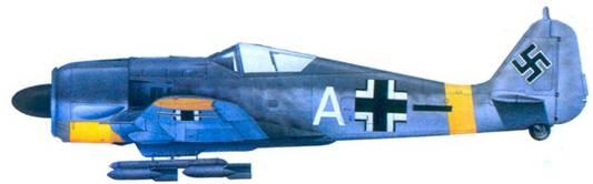 52.Fw 190F-2, лейтенант Фриц Зайффардт, май 1943 года