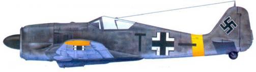 53.Fw 190F-2, обер-фельдфебель Отто Доммерацки, сентябрь 1943 года