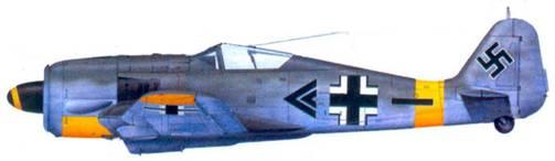 55.Fw 190F-2, майор Хайнц Франк, апрель 1944 года
