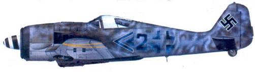 56.Fw 190F-9. майор Карл Кеппель, декабрь 1944 года