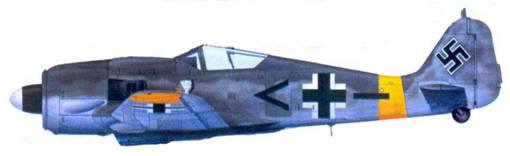 57.Fw 190F-8. лейтенант Германн Бухнер, июнь 1944 года