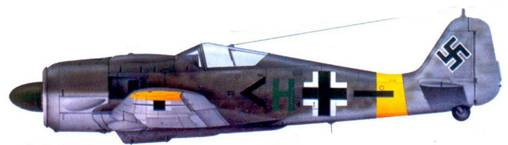 59.Fw 190F-8, капитан Гюнтер Блекманн, май 1944 года