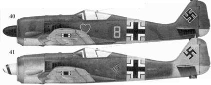40. Fw 190A-5, «желтая восьмерка», лейтенант Роберт Вайсе (Weiss), 3./JG 54, Орел, июнь 1943 года