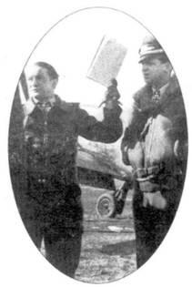 Командир JG 54 Губерту с фон Бонин был сбит и погиб 15 декабря 1943 года неподалеку от базы полка под Витебском. К моменту гибели он имел 77 побед, в том четыре, одержанные в Испании.