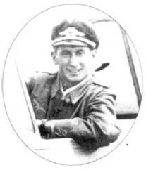 Июнь 1944 года, Лигниц. Лейтенант Норберт Ханниг уже в должности инструктора Ergaenzungsgruppe.