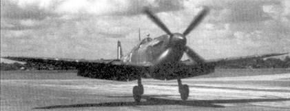 Истребитель «Спитфайр» Mk VIII из 67-й эскадрильи сидится на полосу аэродрома Комилла, июль 1944г. Эскадритлья базировалась пи этом аэродроме с июля по ноябрь 1944г. В это же время звенья «Спитфайров» из 67- й эскадрильи периодически действовали с передовых площадок в Читтагонге и Коксиз Базиар.