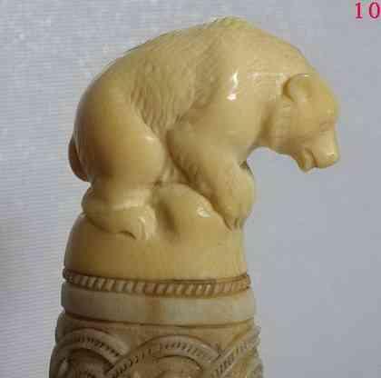 Вл. Баландин. Медведь (мамонт)