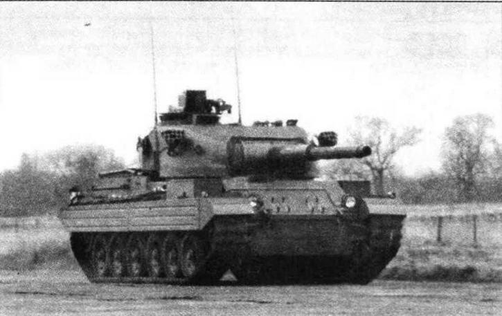 Основной боевой танк Vickers Mk 3