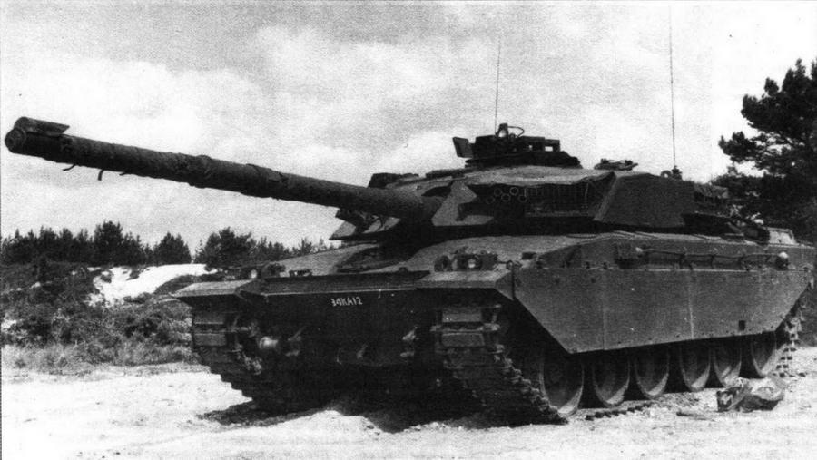Основной боевой танк Challenger 1 Mk 1