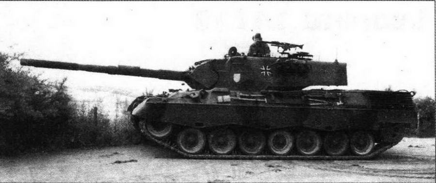 Основной боевой танк Leopard 1A3
