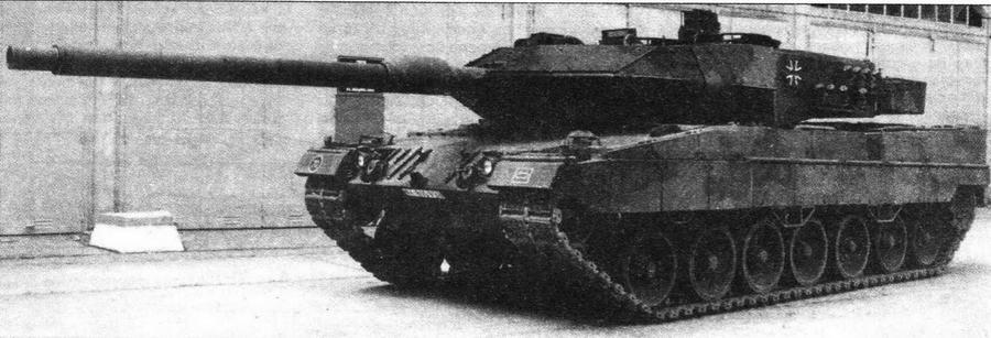 Основной боевой танк Leopard 2А6