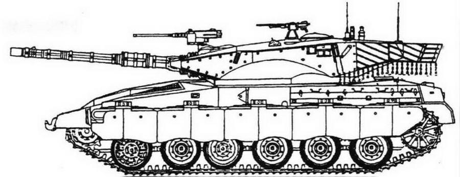 Merkava Mk 2