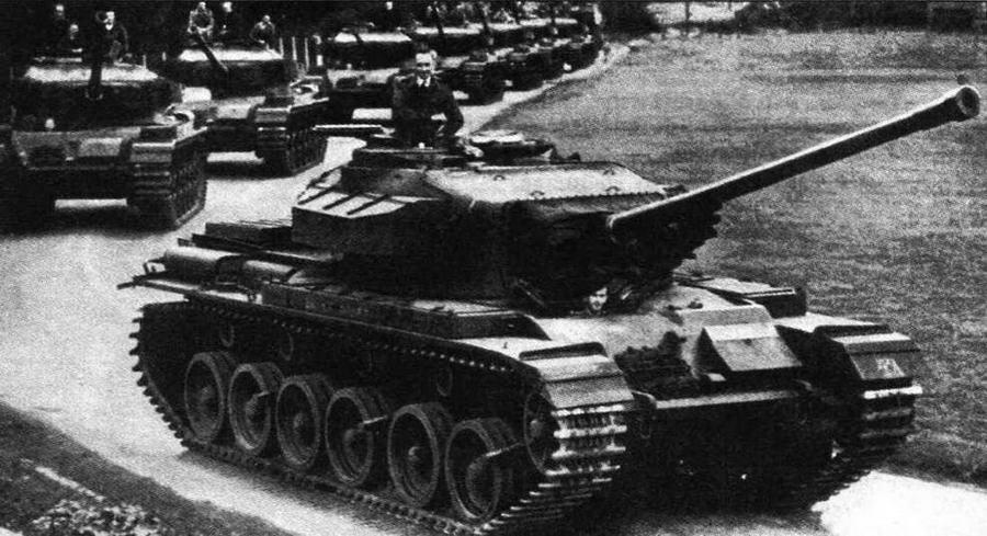 Средний пушечный танк Centurion Mk 3