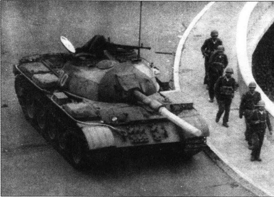 Средний танк Typ 59-II со 105-мм пушкой