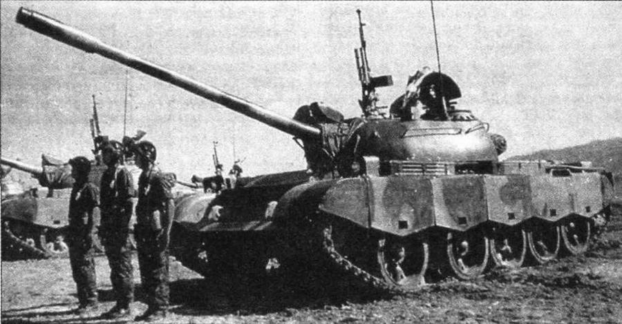 Основной боевой танк Typ 69-II армии Таиланда