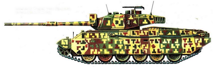 Основной боевой танк Vijayanta.