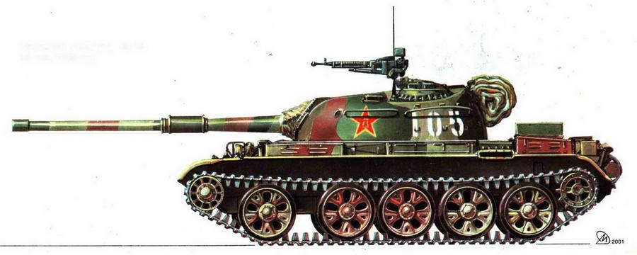 Средний танк Typ 59-М.