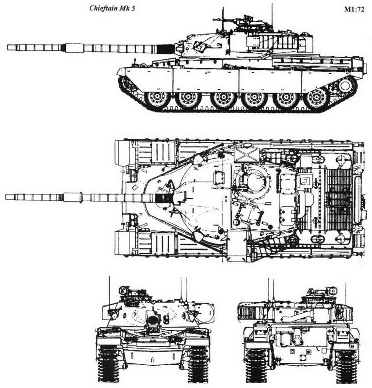 Chieftain Мк 5