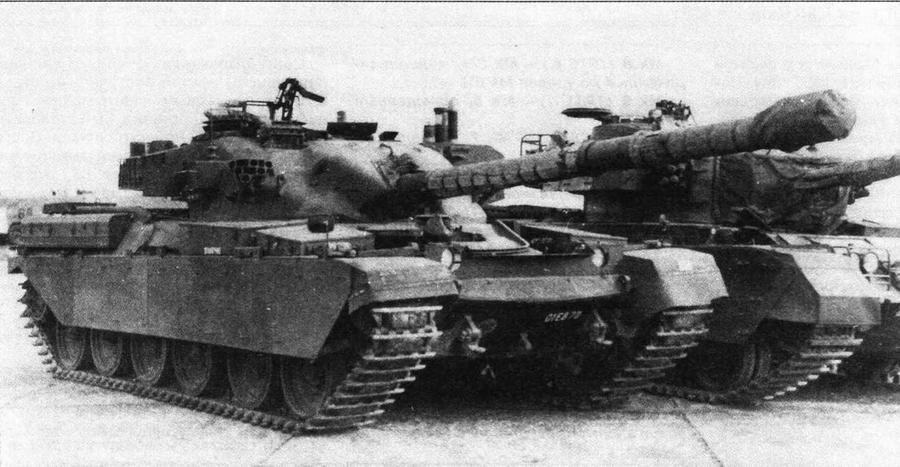 Основной боевой танк Chieftain Mk 3