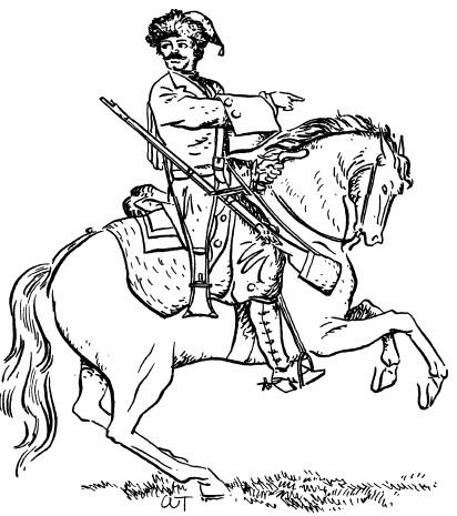 Идеальные кавалеристы и лошади
