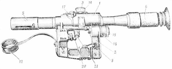 Назначение, устройство частей и механизмов винтовки
