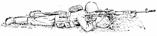 Приемы стрельбы с упора и из-за укрытий