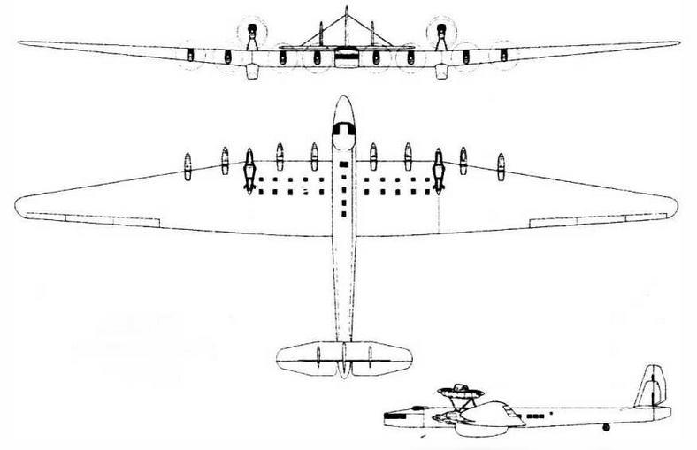 АНТ-28 пассажирский вариант