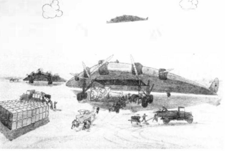 Самолет-гигант Вахмистрова