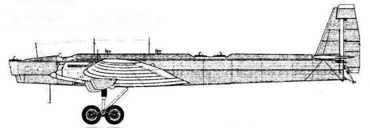 ТБ-3 № 22203 Госиспытания, октябрь 1933 г.