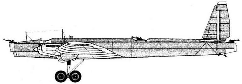 ТБ-3 № 22202 Госиспытания, декабрь 1933 г.