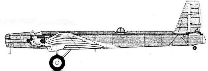 ТБ-3 № 22682, лето 1939 г.