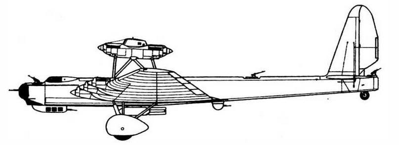 Военный вариант АНТ-20 (ТБ-4)