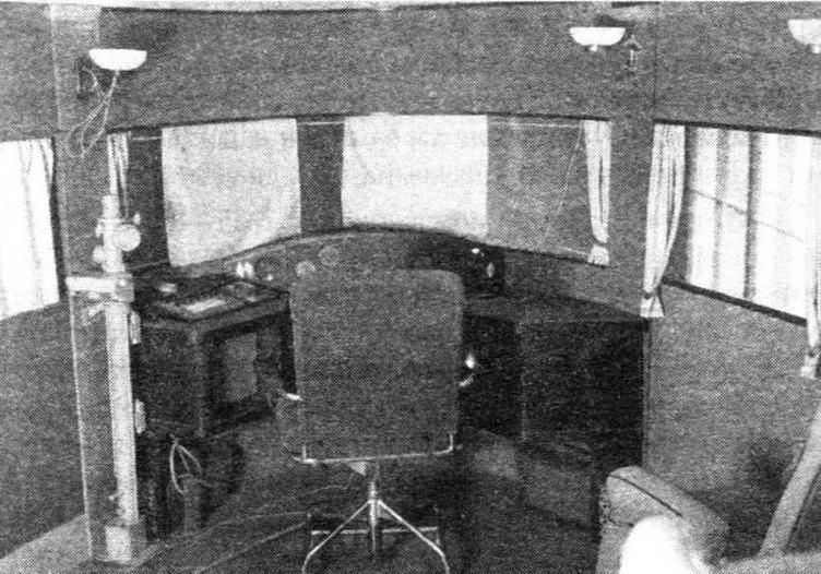 Кабина штурмана в полноразмерном макете АНТ-20
