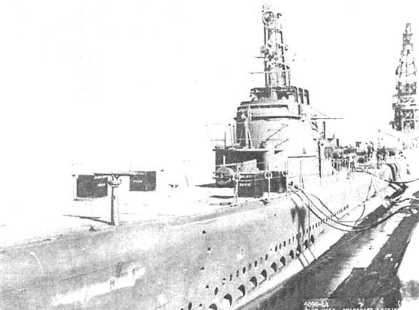 Подводная лодка «Скалпин» в августе 1944 года