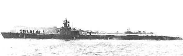 Подводная лодка «Сарго» в августе 1944 года