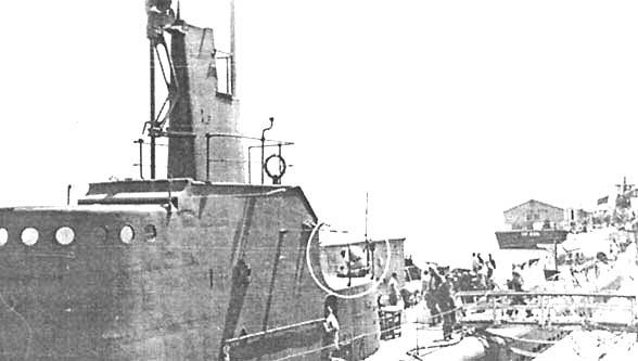 Подводная лодка «Уоху» в августе 1942 года