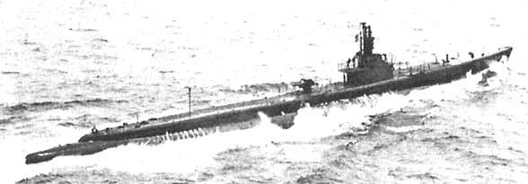 Подводная лодка «Тар» в мае 1944 года